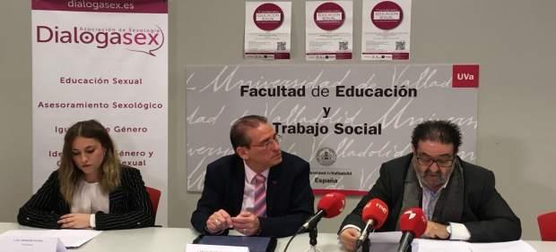 Presentación de las jornadas Dialogasex en Valladolid