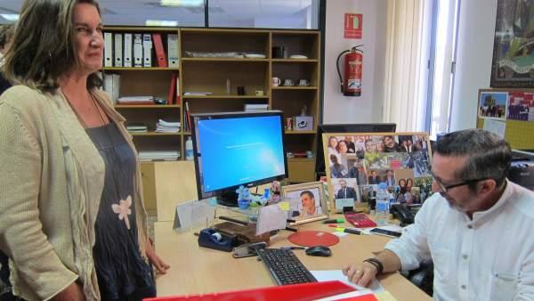 La candidatura de Caballero al PSPV de la província de València presenta 565 avals, el màxim, i la de Fenollar, 403