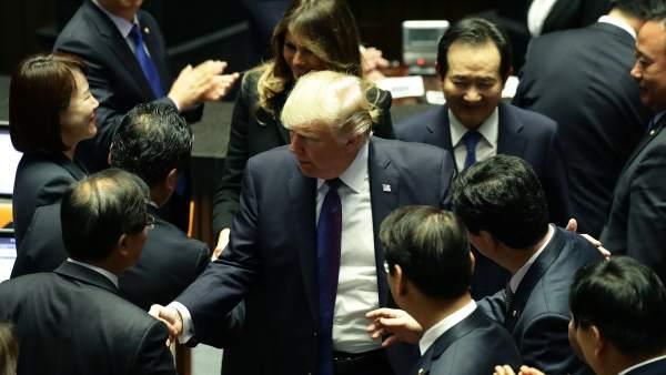 Donald J. Trump en Corea del Sur
