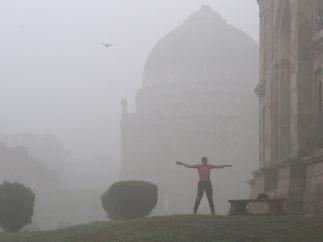 Ejercicio entre polución