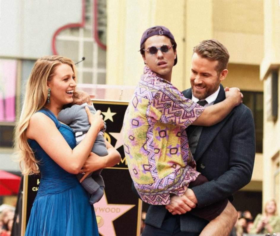 Blake Lively y Ryan Reynolds.
