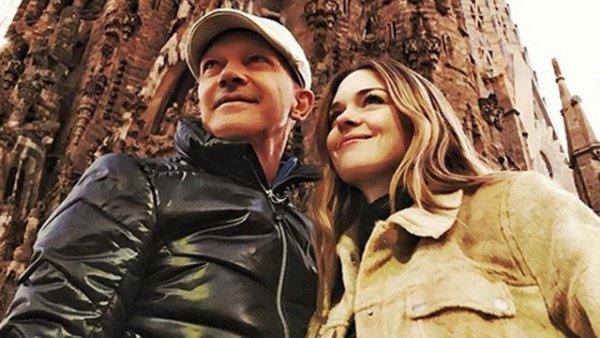 V deo banderas de viaje con su hija en barcelona - Banera de viaje ...