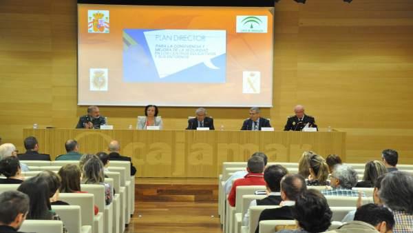 Presentación del Plan Director en Almería