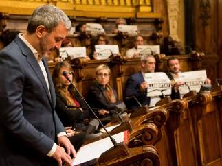 Jaume Collboni, líder del PSC en el Ayuntamiento de Barcelona.