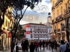 Encendido de las luces de Navidad en las calles de Madrid