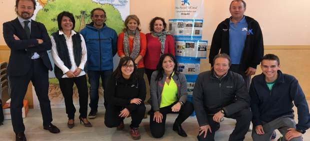 'La Caixa' Apoya El Proyecto 'Camino Al Colegio' En Cuarte De Huerva