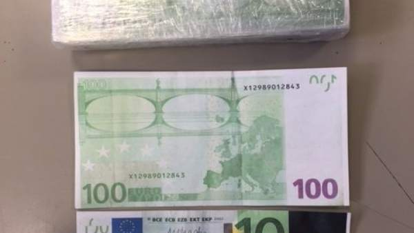 Intento de estafa con billetes falsos de 100 euros