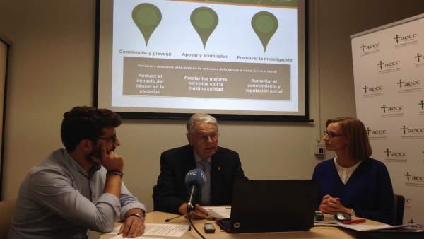 Presentación de datos sobre tabaquismo en la Comunitat Valenciana de AECC