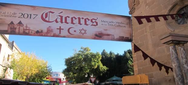 Todo preparado para el XVII Mercado de las Tres Culturas de Cáceres
