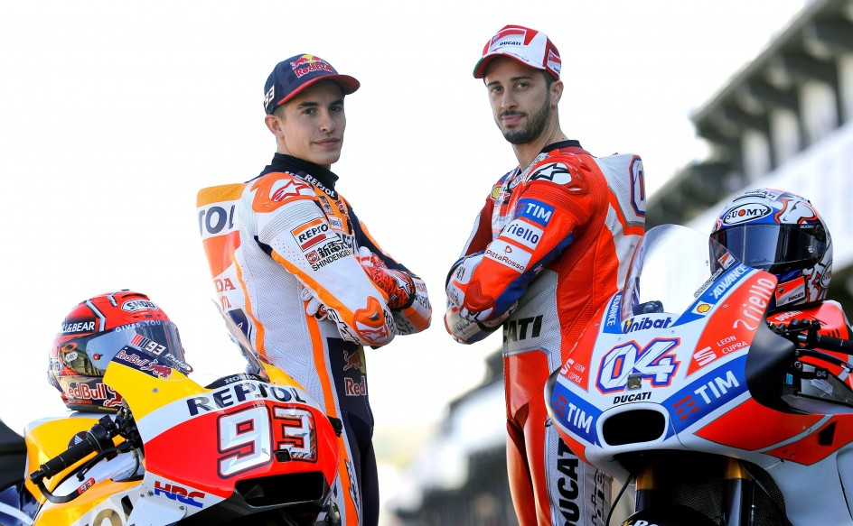 Una carrera, un campeón: Márquez y Dovizioso se juegan el título de MotoGP en Valencia