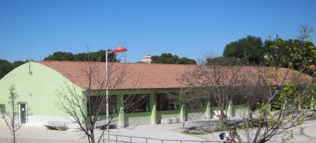 Centro vecinal de los barrios del sur en Valdespara, bici