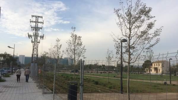 Parque urbano de Malilla
