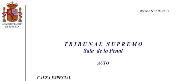 Auto del Tribunal Supremo