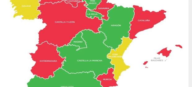 Mapa acceso a la libre elección sanitaria
