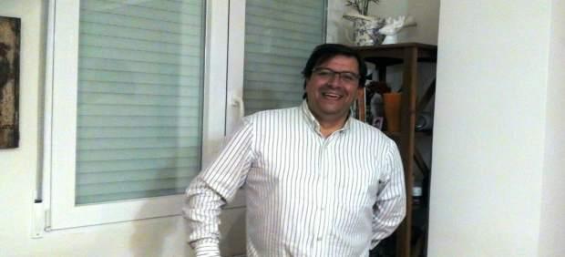 El candidato a la secretaría del PSOE de la capital Gustavo Fernández