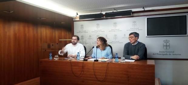 Emilio León, Rosa Espiño y Manuel Carreño