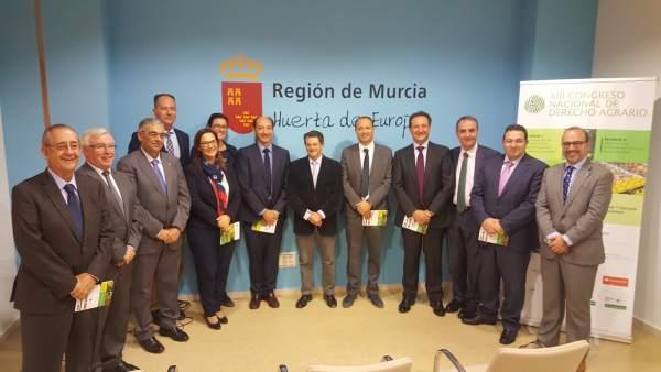 Foto/ Presentación Del Congreso Nacional De Derecho Agra Rio