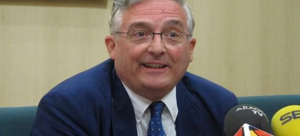 El consejero de Desarrollo Rural y Sostenibilidad, Joaquín Olona