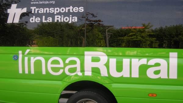 Línea de autobuses rurales de La Rioja