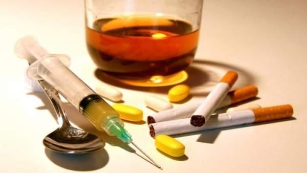 Drogas, tabaco, alcohol, medicamentos, alcoholismo, adicción, drogodependencia