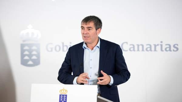 Presidente del Gobierno de Canarias, Fernando Clavijo
