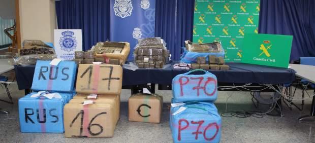 A prisión 20 detenidos en la operación antidroga del Aljarafe