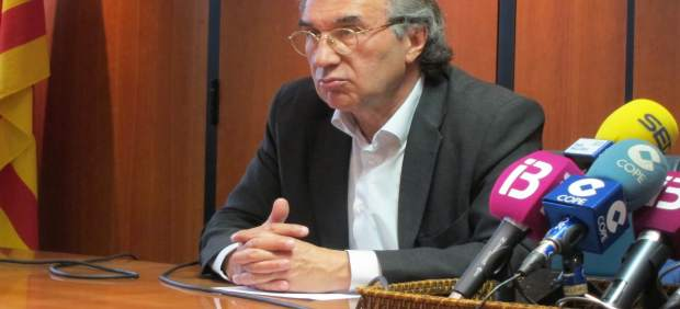 El conseller de Educación y Universidad, Martí March