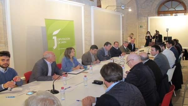 Reunión del Consejo Provincial del Aceite de Oliva.