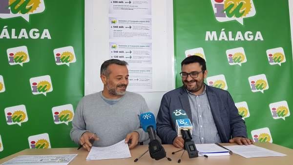 Nota , Fotos De La Rp Sobre Enmiendas De Málaga A Los Presupuestos Andaluces