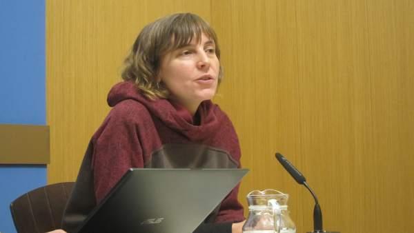 La concejal de Movilidad y Medio Ambiente, Teresa Artigas.