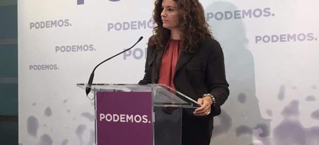 La diputada regional de Podemos, Mª Ángeles GArcía Navarro