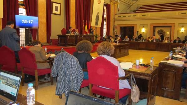 Debate Estado del Municipio en Salón de Plenos Ayuntamiento