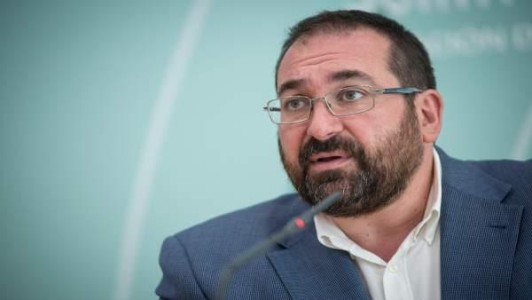 El delegado territorial de Educación de la Junta, Germán González
