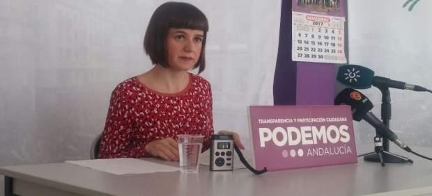 La diputada autonómica de Podemos Andalucía Lucía Ayala