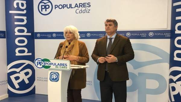La diputada popular por Cádiz, Teófila Martínez