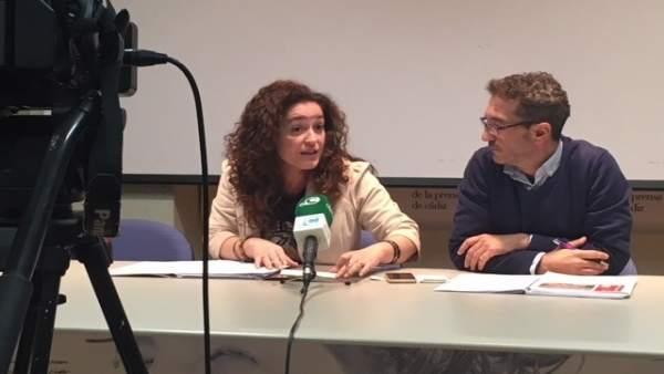Inmaculada NIeto, parlamentari de IU por Cádiz