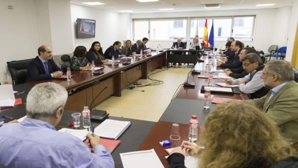 Mesa del diálogo social. Gobierno, sindicatos y patronal