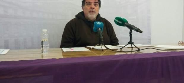El parlamentario de Podemos por Huelva, Jesús Romero.