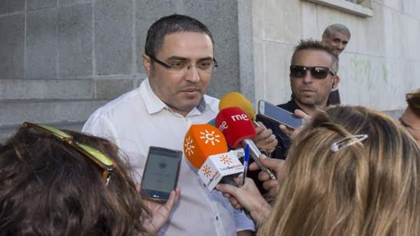 Aníbal Domínguez, hermano y tío de los fallecidos en el crimen de Almonte.
