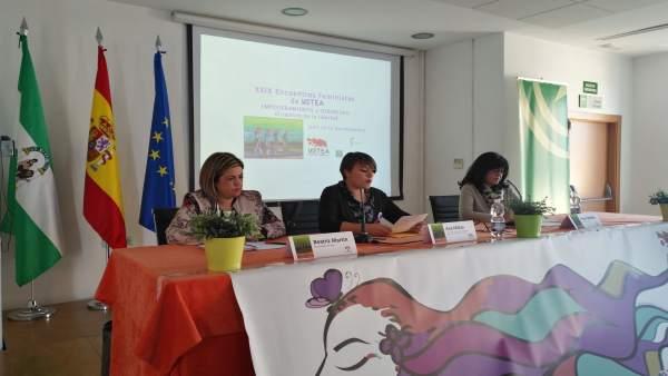 Inauguración de las jornadas feministas de Ustea