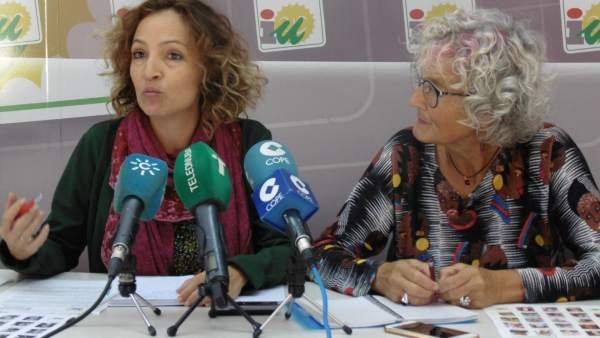 Silvia Zambrano y Pepa Beiras.