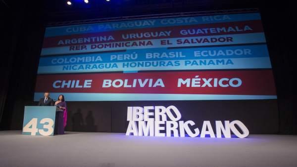 Gala inaugural del Festival de Cine Iberoamericano de Huelva