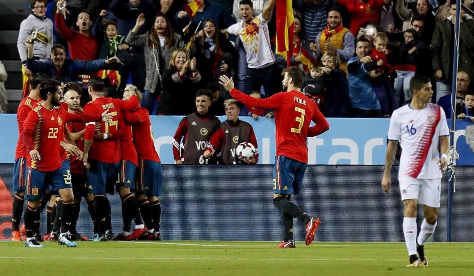 Rusia vs España | Directo: amistoso en la tierra del Mundial