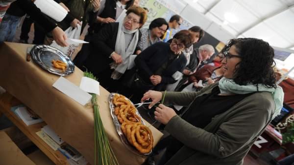 Degustación en la Feria de los Municipios