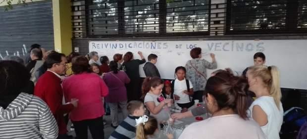 Protesta en Tres Barrios-Amate por la merma de la UTS.