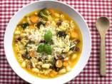 Receta: sopa de verduras 'minestrone'
