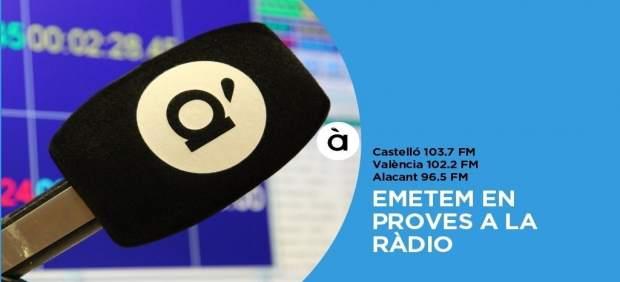 La ràdio d'À Punt arranca l'emissió en proves a través de freqüència modulada
