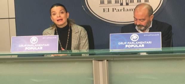 Prohens y Gómez en rueda de prensa