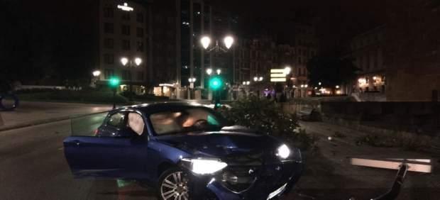 Acidente registrado en Oviedo.
