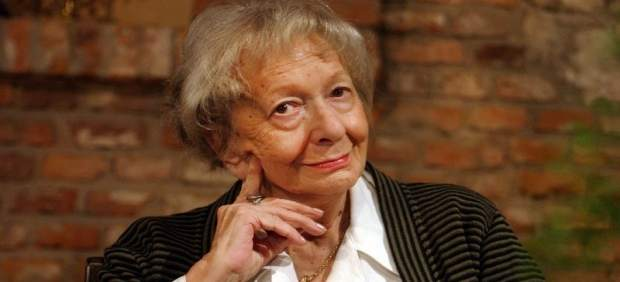 La escritora polaca Wislawa Szymborska